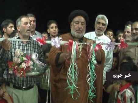 افتتاح حسینیه امیرالمومنین (ع) در پشت پر