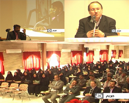گردهمائی مدیران و آموزگاران دوره ابتدائی  و نیز دبیران ادبیات فارسی در دوره های راهنمائی و متوسطه در شهر جویم
