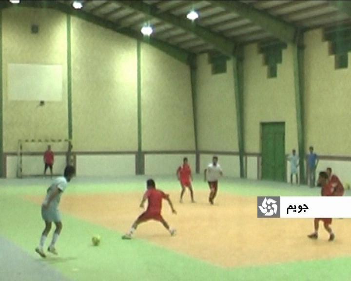 برگزاری مسابقات فوتسال جام رمضان در جویم
